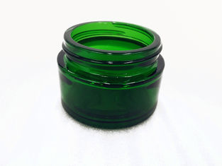 30ml Glass Cosmetic Cream Jar , Screw Cap Containers For Creams And Lotions