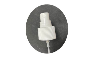 24/410 White Color Plastic Bottle Parts Mist Sprayer Screw Cap